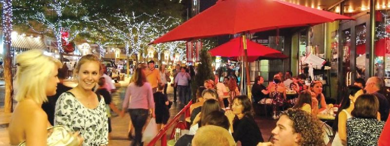 16th Street Mall Outdoor Cafe Credit VISIT DENVER