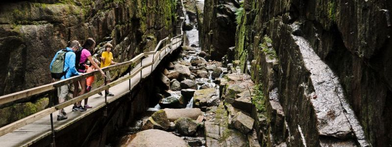 1Flume Gorge Franconia Notch State Park c New Hampshire Division of Travel and Tourism Development