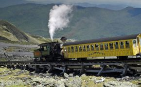 Mount Washington Cog Railway c White Mountains New Hampshire