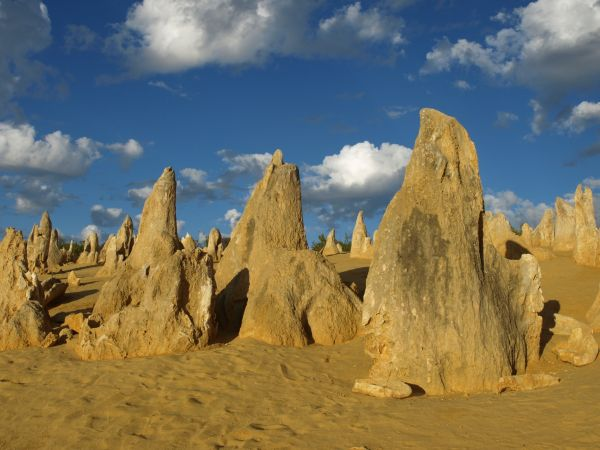 Pinnacles, Australien