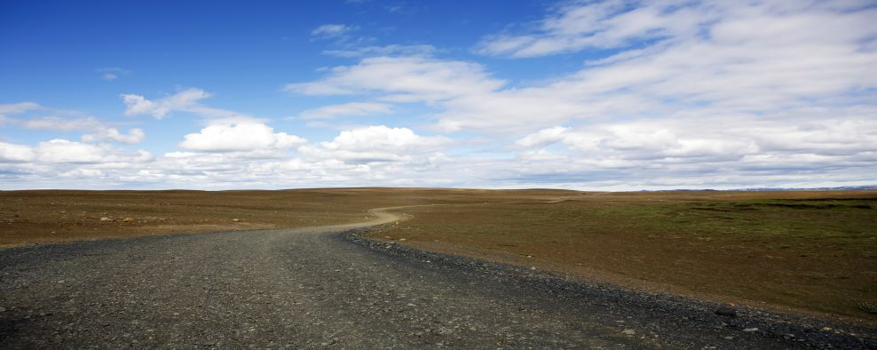 Iceland Travel the road to nowhere by Solveig Palsdottir