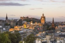Schottland/Edinburgh Skyline